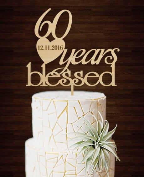 Compra 60 aniversario de boda online al por mayor de china for Decoracion 40 aniversario de bodas