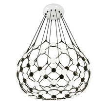 New arrival Modern black go Pendant Light globe earth creative hanging Lamp Lamparas droplamp droplight warm white 3000K