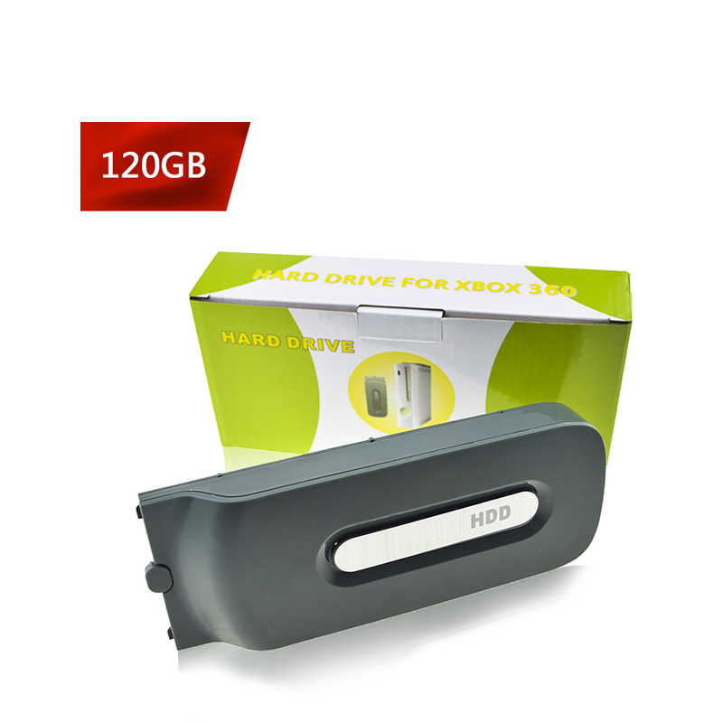 120GB HDD Hard Drive Disk For Xbox 360 Fat Video Games Accessory Console 120gb Hard Drive For Microsoft XBOX360 Juegos Consola