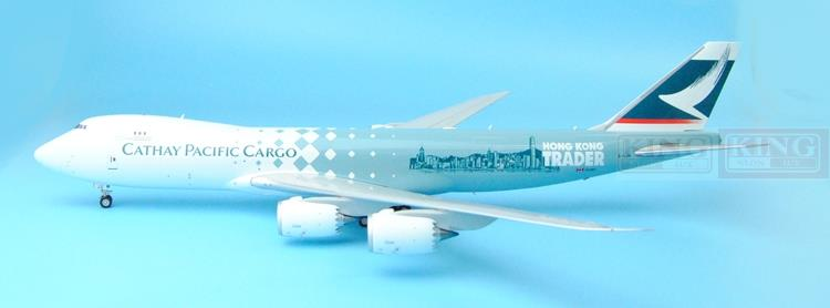 Offer: Wings Special XX2793 JC Hongkong Cathay Pacific B-LJA B747-8F trading house 1:200 commercial jetliners plane model hobby