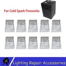 10 Bags/lots TI Poeder 200 g/zak Outdoor Koude Vonk Sterretje Metalen Titanium Voor Koude Vlam Podium effect Vuurwerk Machine Poeder