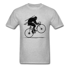 цены на Ninja Biker T-shirt Print Men's Funny T Shirt Man Summer Cotton Tshirt Japan Style Cartoon Tops 2018 Grey Tees Cheap Custom  в интернет-магазинах