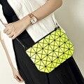 2017 New Women Fashion Laser BAOBAO Bag Geometry Package Sequins Saser Plain Folding Handbags briefcase Shoulder Bags Women bag