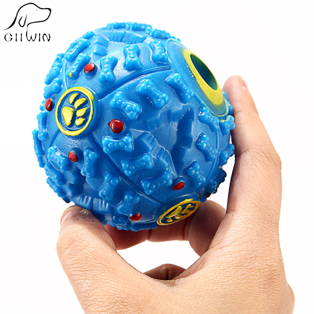 Interactive Dog Toys Food Ball For Dogs Chew Silicone Toy Dog Solid All seasons Pet Toys Products Dogs Game Pet Supplies HZ0003