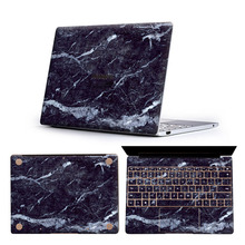 Buy Marble pattern Laptop Stickers for Huawei Matebook 13.3/X 13.3/X Pro 13.9/14/D 15.6 inch Print Notebook decals Anti-dust fundas directly from merchant!