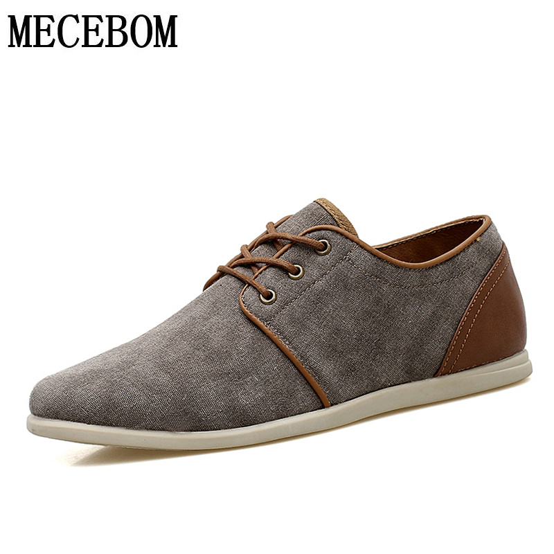 Men's canvas shoes breathable lace-up casual shoes for male mens flats low-top shoes zapatos size 39-44 108m men s leather shoes new arrival lace up breathable vintage style casual shoes for male footwears zapatos size 38 44 8151m