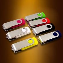 USB Flash drive promotion! Rotate 2.0 4GB 8GB 16GB 32GB 64GB 128GB  Drive pen memory stick u disk 10PSC/1bag