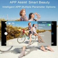 Захват funsnap 3-осевое переносное карданное карданный стабилизатор для смартфона для Gopro Sjcam Xiaomi 4k экшн Камера разных цветов с шарнирным соедин... 3