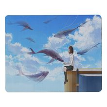 Babaite Boy Gift Pad Fantasy Flying Fish Customized MousePads Computer Laptop Anime Mouse Mat Size for 18x22cm 25x29cm Mousemats