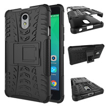 1.Dual Layer Kickstand Anti-Knock Phone Case For Lenovo Vibe P1M Cover Silicon&Plastic Armor Shockproof 2in1 Back Protector Case