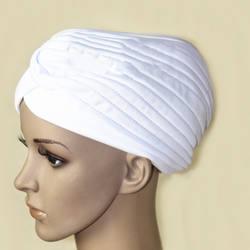 Модные женские туфли хиджаб тюрбаны Кепки Исламская твердая шляпа мусульманских индийские шапки новый TY53