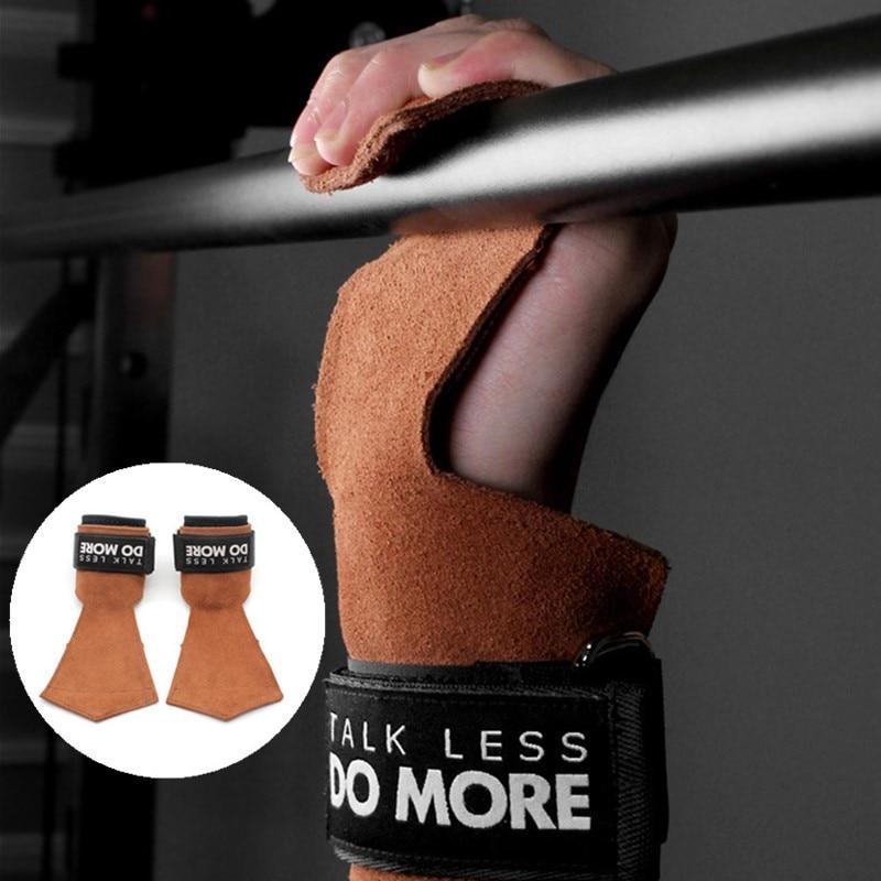 Weight Lifting Gym Hook Strap Crossfit Wrist Wraps Musculation Entraînement Straps