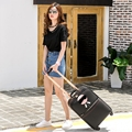 Paul suitcase trolley luggage luggage male16 20 universal wheels 24 password box travel bag female