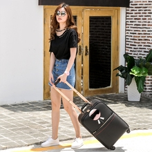 Paul suitcase trolley luggage luggage male16 20 universal wheels 24 password box travel bag female