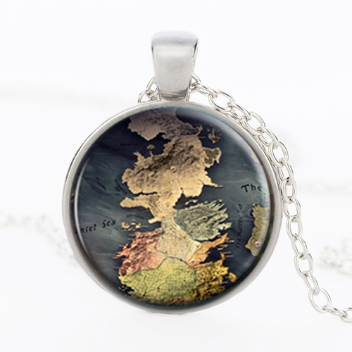 Game Of Thrones –  Map Pendant