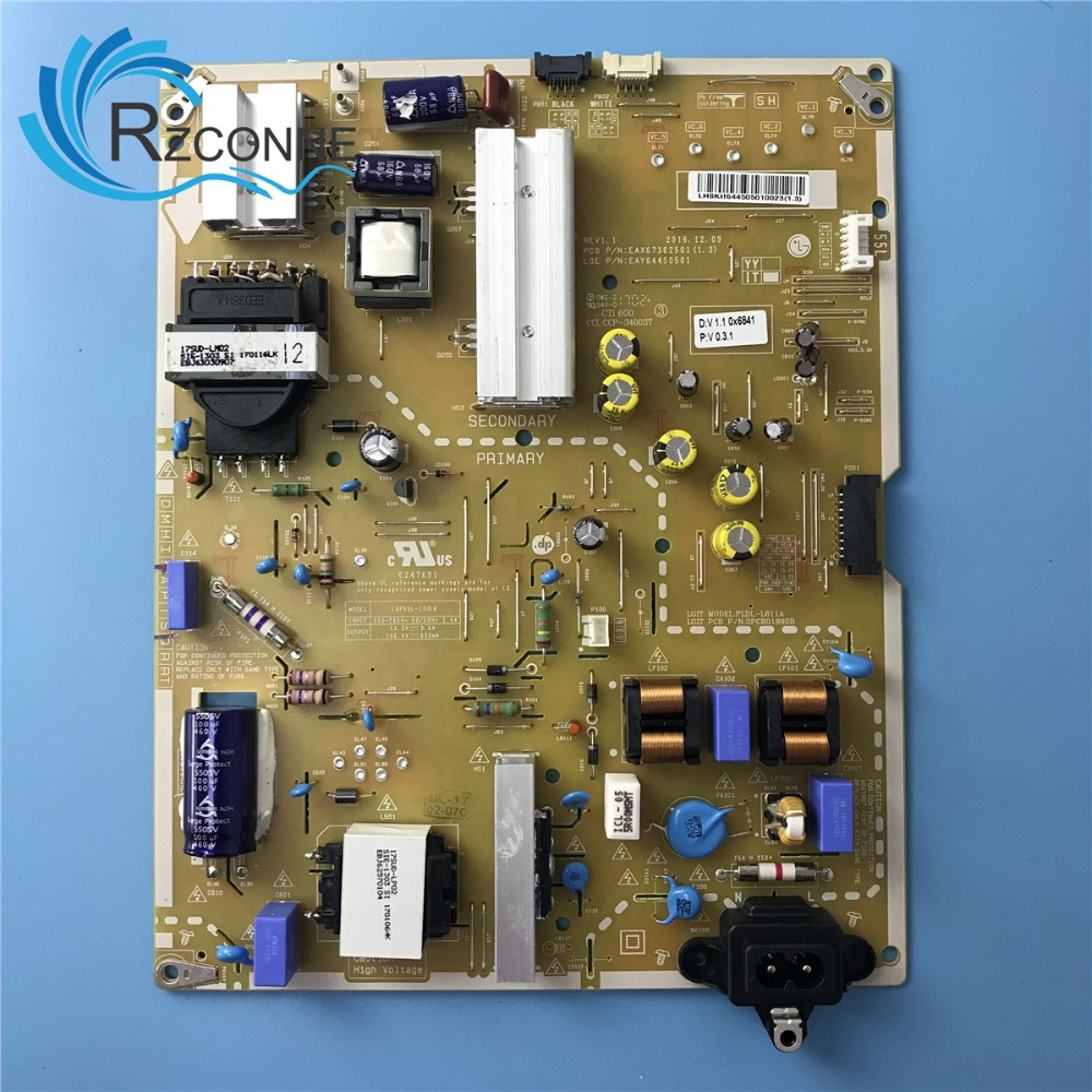 Power Board Card Supply For LG 55'' TV LGP55L-17UL6 EAX67362501(1.3) EAY64450501 55UJ6500-CB 55UJ654T 55UJ651V 55UJ6540 55UH670V