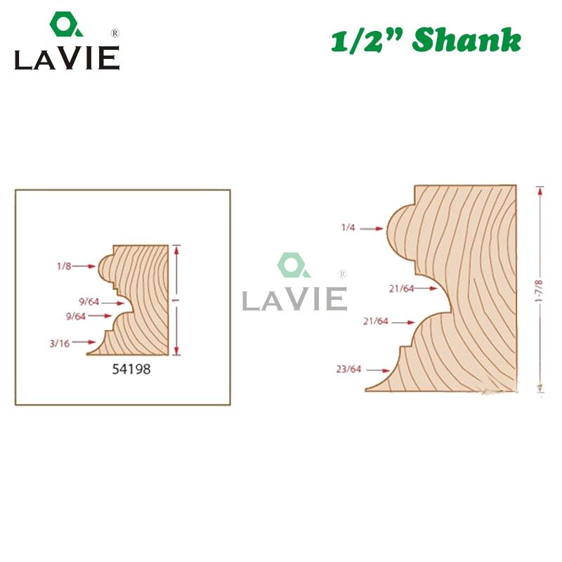 Lavie 1 pc 12mm 1 2 shank