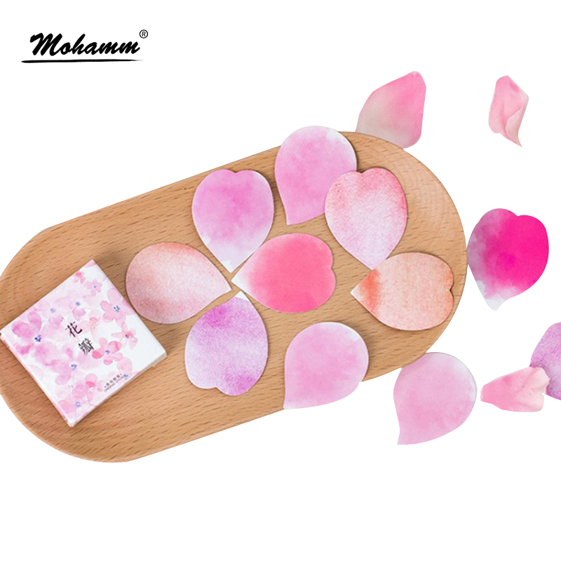 45pcs/lot Cute Pink Petal Decorative Diy Diary Stickers Post It Kawaii Scrapbooking Sticky Stationery Escolar School Supplies 45pcs lot cute cup of animals diary sticker post it kawaii planner scrapbooking sticky stationery escolar school supplies