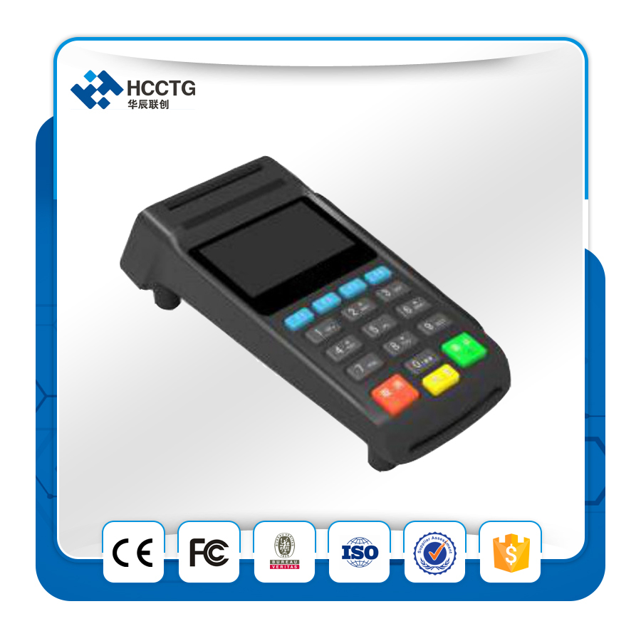 USB/RS232 Interface à option ATM Cryptage Pin Pad Paiement Machine Avec MSR Z90PD - 6