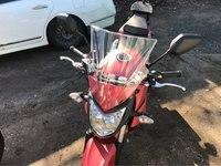 Motorcycle Windshield Windscreen With adjustable bracket Wind Screen For Honda Hornet CB600 CB750 CB900 CB919 CB250 CB 400