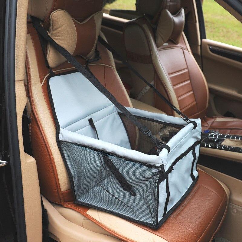 Punta de pata 5 colores Pet Carrier perro asiento malla transpirable al aire libre viaje asiento delantero de coche para perros pequeños
