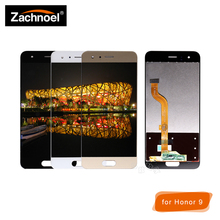 Replacemnt Screen for Huawei Honor 9 STF-L09 STF-AL10 STF-AL00 STF-TL10 Display with Touch Screen Digitizer Assembly туника stf