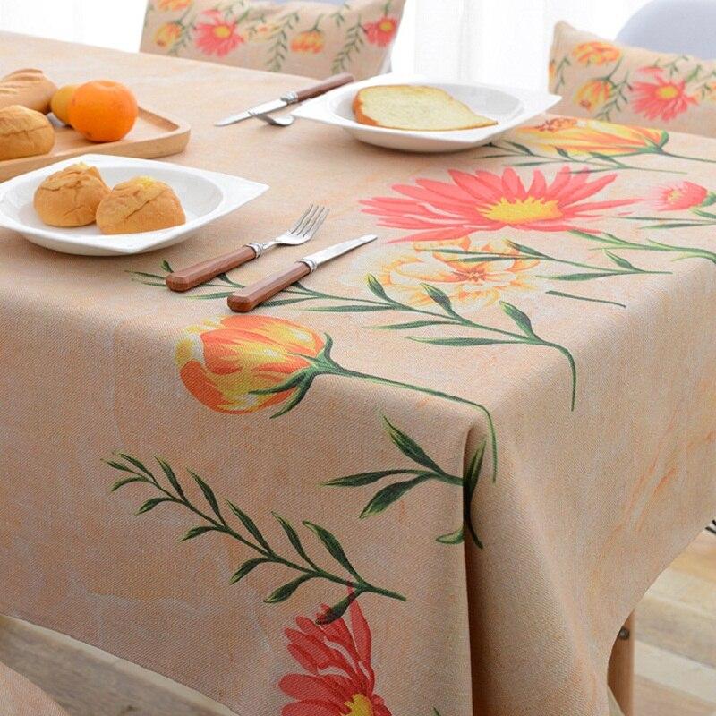 Новый Пастырское Скатерти печатных скатерть защиты дома украшение элегантный цветочный покрытие стола
