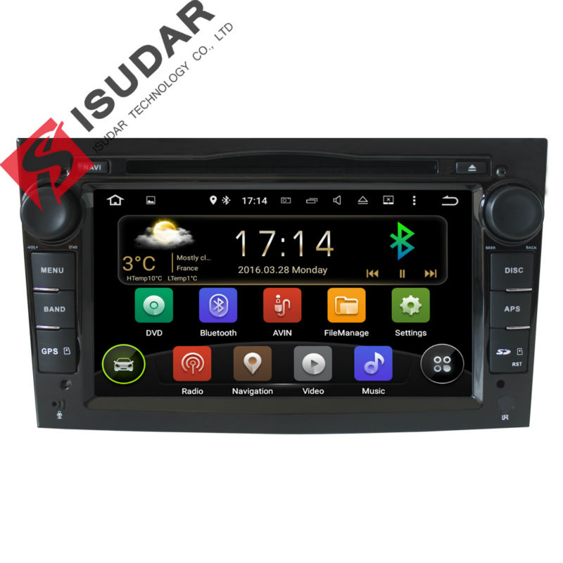 buy two 7 inch android car dvd player for opel astra antara vectra multimedia. Black Bedroom Furniture Sets. Home Design Ideas