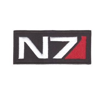Efekt masowy gra N7 Tactical Ops Logo haftowana łatka nowa nieużywana niska cena
