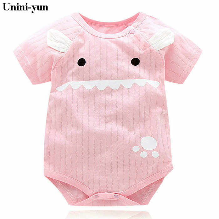 eecef5b87add Baby Rompers Summer Baby Girl Clothes 2018 Baby Boys Clothing Sets Short  Sleeve Newborn Baby Clothes