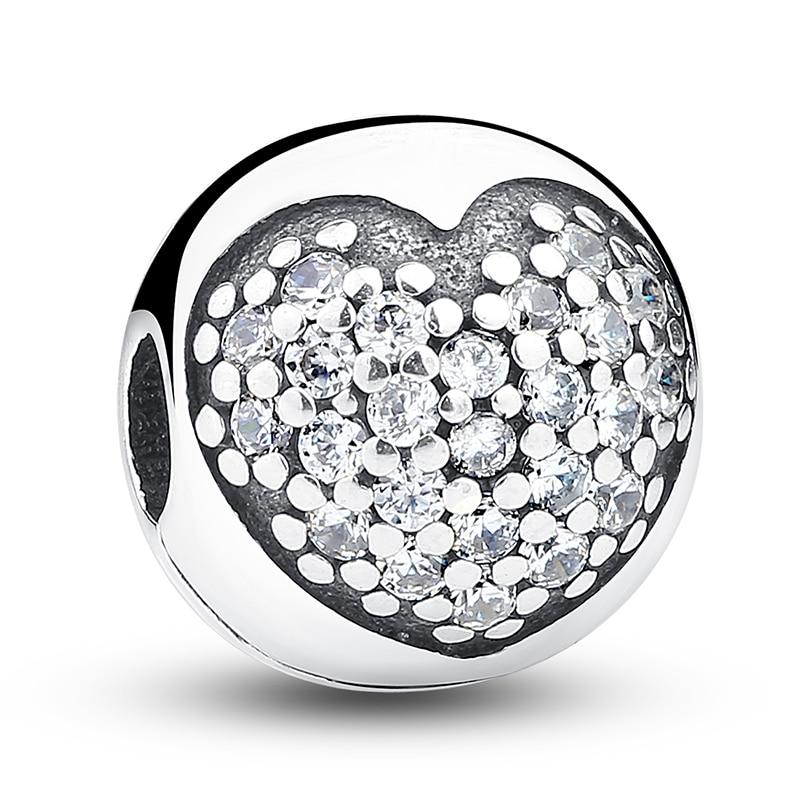 dália clipe charme beads fit Formato do Item : Redondo