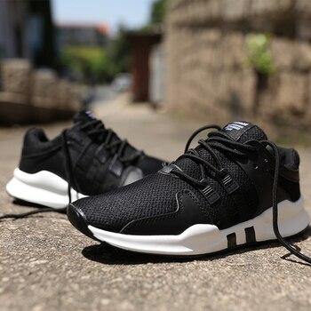 2017 Nieuwe Mannen loopschoenen Walking Ademend sport lace up Trainers sneakers Zomer Schoenen Zapatillas Hombre Presto big size