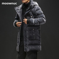 2018 Winter coat Men's Parkas high quality Hooded Coats Casual Overcoats Mens Jackets M 3XL Warm cotton padded jacket men