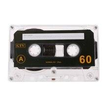 Стандартная кассета пустая лента пустая 60 минут аудио запись для речевого музыкального проигрывателя