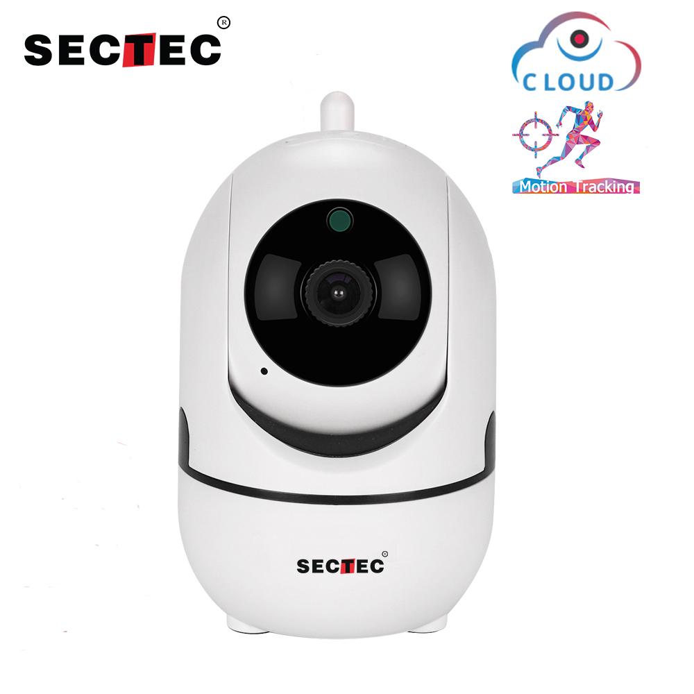 SECTEC 720P Cloud Wireless IP Camera Intelligent Auto Tracking Of Human Home Indoor Security Surveillance CCTV Network Wifi Cam