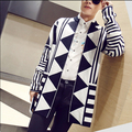 Hot 2015 New casual winter coat Right GD Zhi-Long Slim casual sweater and long trench tide men clothing costumes outwear