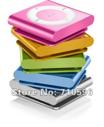 Promotion 500pcs/lot 6th clip mp3 player mini mp3 sport mp3 player with TF SLOT SUPPORT TF CARD