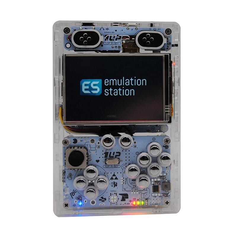 3,5 pulgadas de pantalla de salida HDMI Raspberry pi 3 B/B + juego de consola reproductor de juegos portátil consola de video juegos incorporado más de 10000 juegos