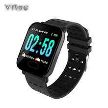 Smart Watch a6 Heart Rate Sleep Monitor Sport Smartwatch Waterproof Fitness Tracker Blood Pressure Men Watch for iOS Android haoba smart watch on wrist smartwatch heart rate bluetooth blood pressure sleep monitor fitness tracker for android ios xiaomi