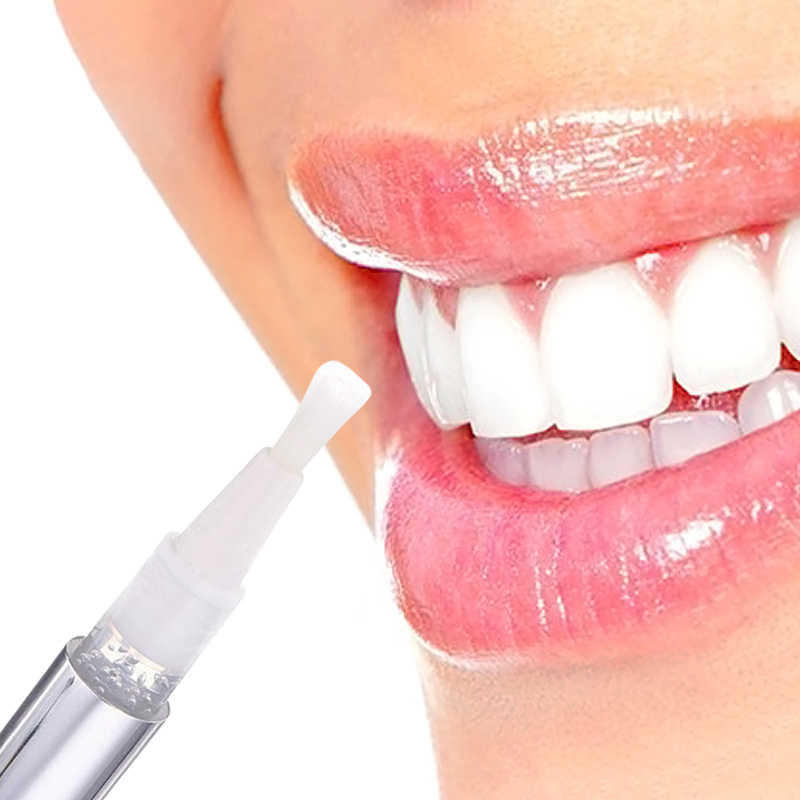 1 pezzo Caldo Creativo Efficace Teeth Whitening Pen Tooth Gel Decolorante Bleach Stain Eraser Sexy di Un Personaggio Famoso Sorriso Cura Dei Denti