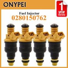 Seti 4 yakıt enjektörü 0280150762 Volvo 240 740 940 960 için Peugeot 205 Citroen
