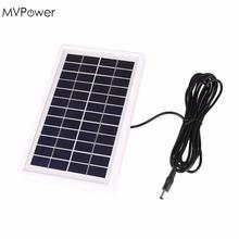 MVPower 3W 12V Power Bank Charging Module Mini Epoxy Solar White Frame Panel 2017