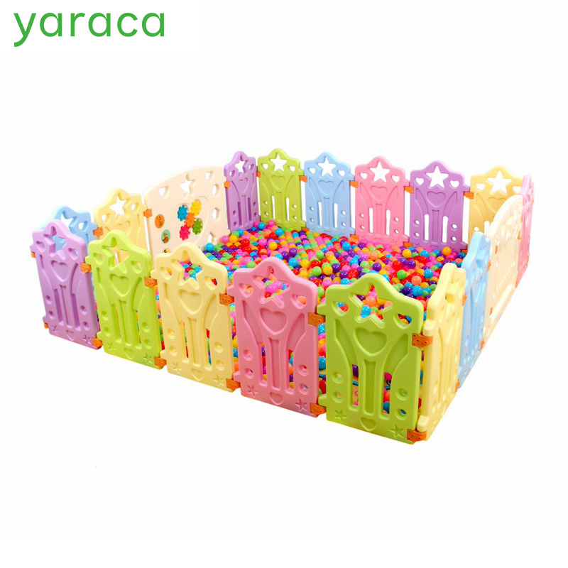 Indoor Baby Playpens Outdoor Games Fencing Children Play Fence Kids Activity Gear Environmental Protection EP Safety Play Yard