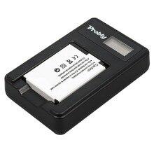 New1pcs probty bateria + usb carregador de lcd para nikon en-el12 coolpix P330 AW110 S9400 S9500 S9100 S8000 S610 S620 S70 S1100 S610C
