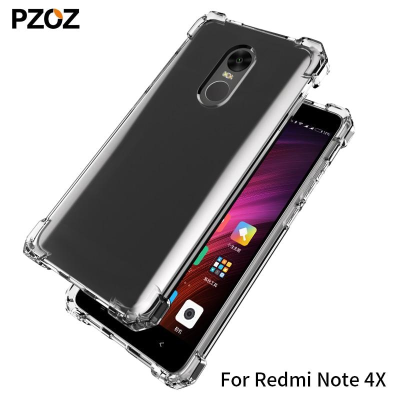 PZOZ redmi note 4x kasus silikon mewah anti-mengetuk xiaomi redmi - Aksesori dan suku cadang ponsel - Foto 2