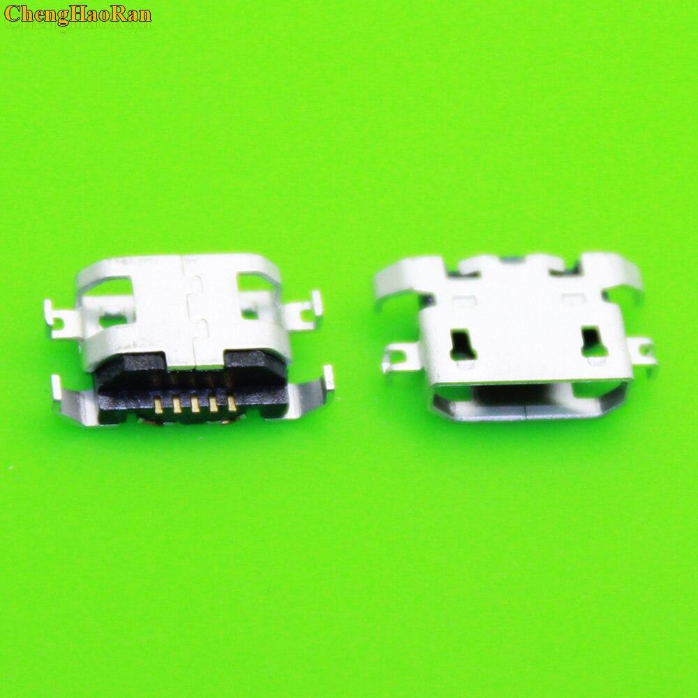 10 - 500pcs For motorola Moto G5 XT1672 XT1676 micro usb 5pin charge charging connector plug dock jack socket port repair parts