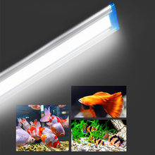 18/28/38/48cm Super Slim LEDs Aquarium Lighting Aquatic Plant Light Extensible Waterproof Clip on Lamp For Fish Tank(China)