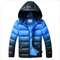 Мальчики Зимнее Пальто Ватник Верхняя Одежда Для 8-17 Т Мода Капюшоном Толстые Теплые Дети Парки Шинель Высокое Качество 2016 Новый