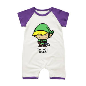 Baby Toddler Romper Baby-Boys-Girls Jumpsuits Shorts-Sleeve Newborn Pajamas Summer Infant
