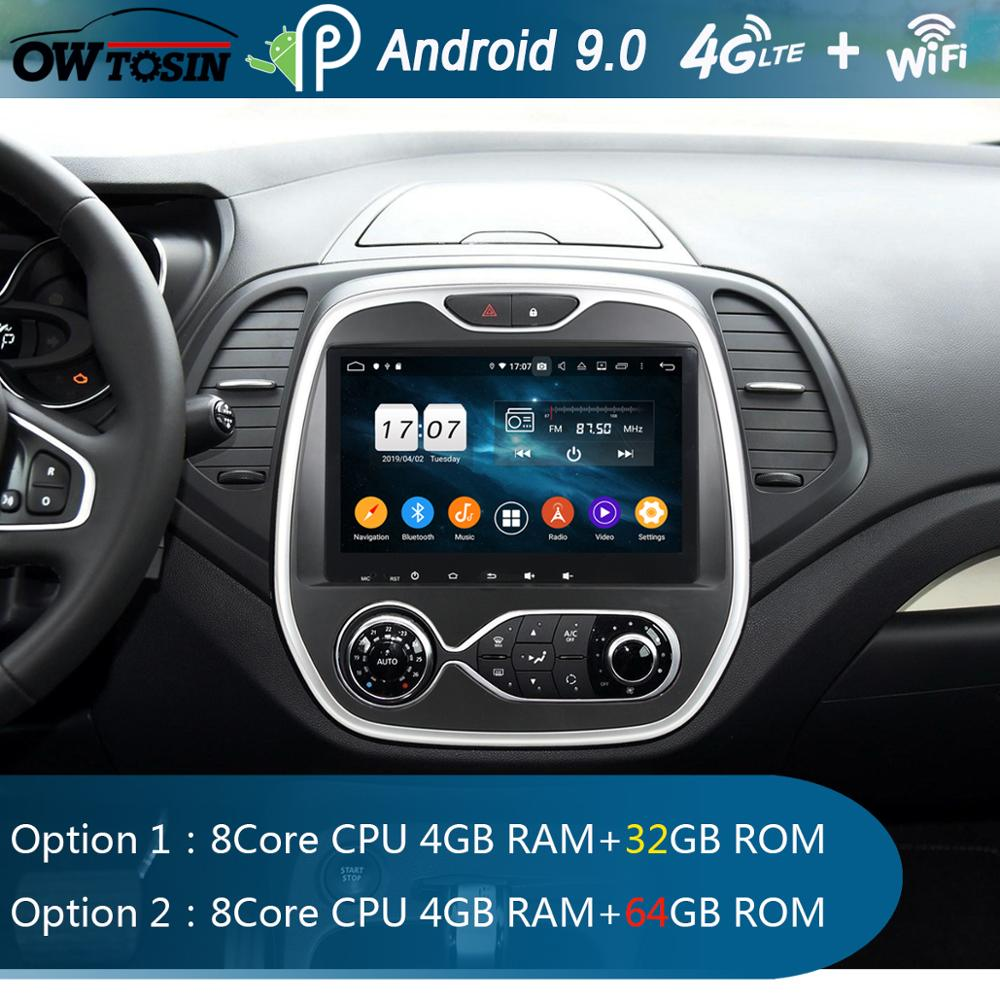 9 IPS Android 9 0 8Core 4GB RAM 64GB ROM Car DVD Radio Player GPS For